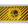 黑黄条斜纹防撞贴 电力反光警示贴