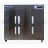 制冷冰柜系列:六门直冷双机双温柜