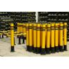 钢管警示柱,防护桩,分道柱