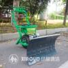 菏泽小林牌轮式手推电动铲雪机  多功能铲雪机专卖厂家