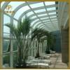 供应上海银昊阳光房玻璃雨棚定制大型钢结构雨棚车雨棚