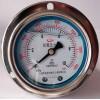 耐震不锈钢轴向带边压力表