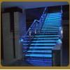 京艺金属二十年实力厂家专业定制悬空无支撑结构玻璃楼梯