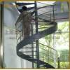 二十年实力厂家制作京艺定制性价比高的钢板扭弯造型旋转楼梯