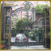 制作安装设计于一体京艺金属厂家直销电动铁艺大门与遥控别墅门