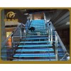 供钢结构楼梯,定制大型工程楼梯、旋转楼梯、发光玻璃楼梯