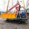 广西农用田园树林履带吊运机6吨高速工程履带随车吊图片
