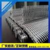 生产304不锈钢人字型折边网带 热处理炉输送网带的厂家