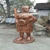 红铜玻璃钢雕塑加工 红铜玻璃钢雕塑公司