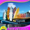 商丘童星儿童游乐设备厂家供应大型广场游乐设备冲浪者上座率高