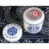 景德镇陶瓷陶瓷膏方罐定制厂家 中药膏方罐定制文字