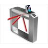 人证合一闸机,同时对比黑名单、白名单、有效时间,指纹验证方式