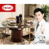 投资创业选择好项目,家具代理加盟选择韩博智能餐桌