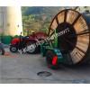 电缆线盘拖车,电缆拖车生产厂家,5吨电缆拖车