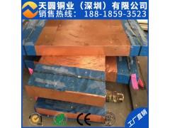 C1100 C1020高纯高精精密紫铜板 接地止水用紫铜板