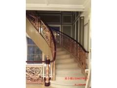 嘉兴铝雕花镀金护栏 别墅楼梯护栏高追求适用