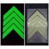地面通道嵌入式不锈钢导向标识  自发光安全疏散指示地标