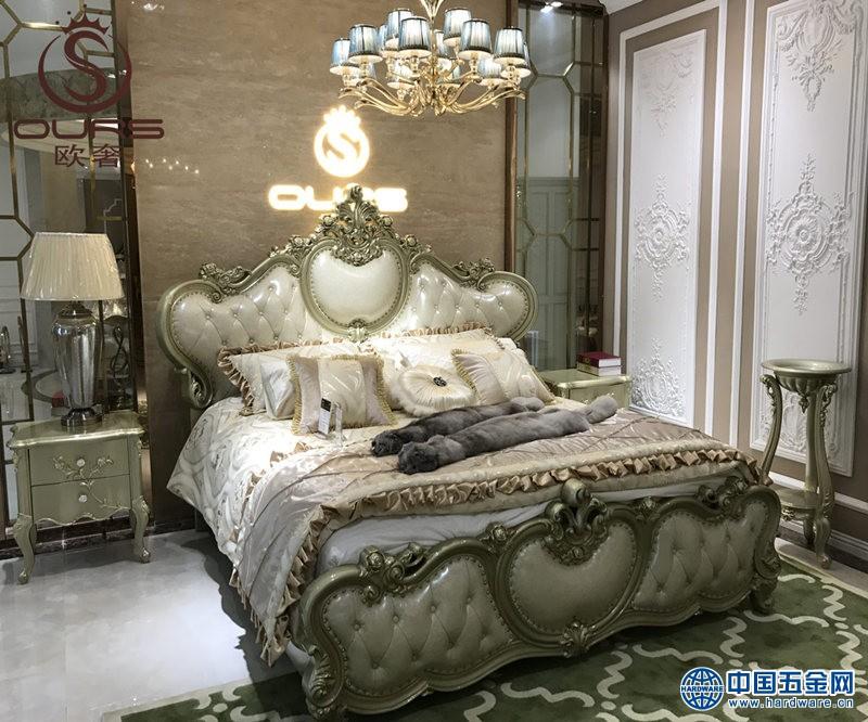 简约欧式大床厂家批发代理加盟欧奢家具