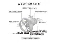 QJB0.85潜水式搅拌机潜水搅拌器选型 高清图