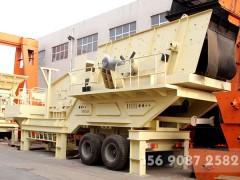 时产300吨车载移动碎石机多少钱一套MW