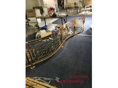 邵阳铜楼梯 铜板雕刻护栏楼梯厂家直接供应