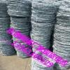 甘肃小区墙头刺线现货新疆小区防护刺铁丝青海围墙防盗网