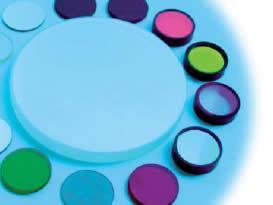 多种滤光片滤色片(尺寸可定制)