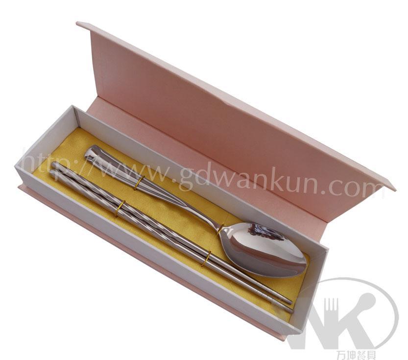 不锈钢勺筷,春节礼品餐具