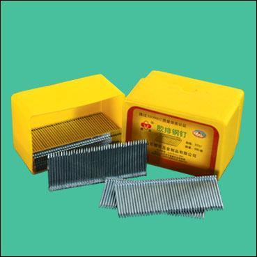 铁钉生产厂家长期供应优质胶排钢钉 (中国驰名商标)