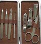 洁美不锈钢指甲刀套装5