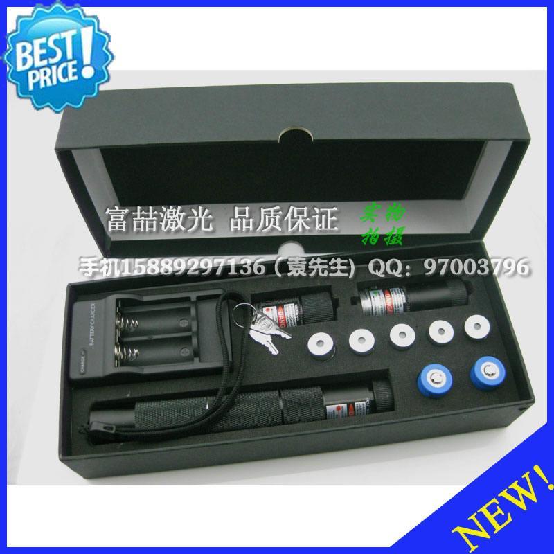 新款 红绿蓝三色 激光手电筒 激光灯 激光教鞭 多功能整套