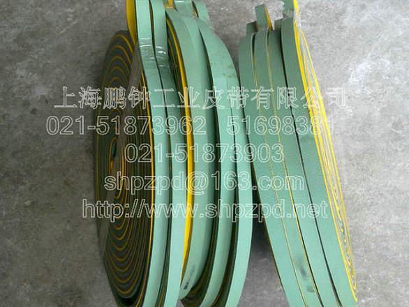 供应超1米宽片基带-黄绿平皮带--输送带质量可靠 耐磨性好