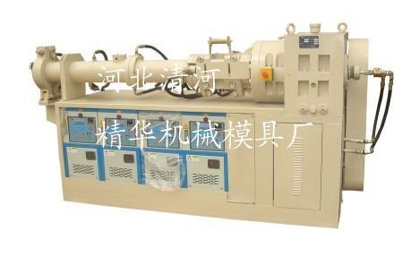 生产三元乙丙挤出机 单螺杆三元乙丙挤出机厂家精华机械模具厂