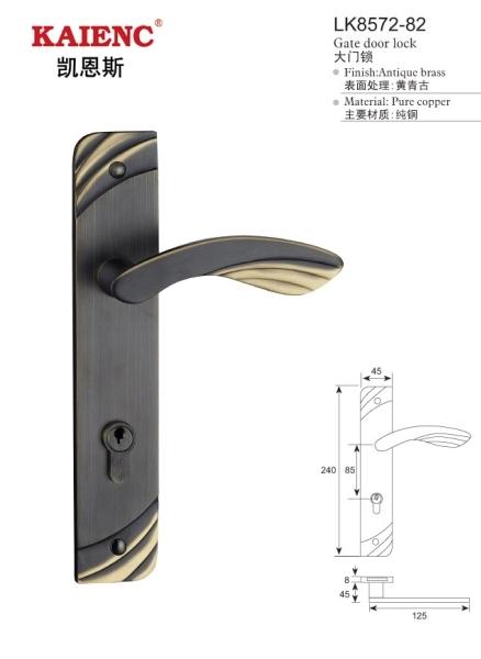 豪华经典欧式仿古机械锁 房门锁 执手锁 房门锁 室内门锁 防