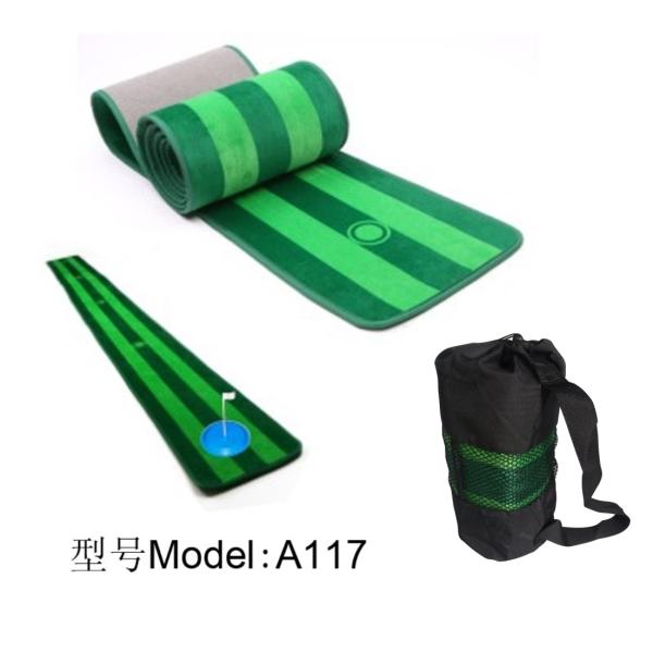 高尔夫推杆练习毯小