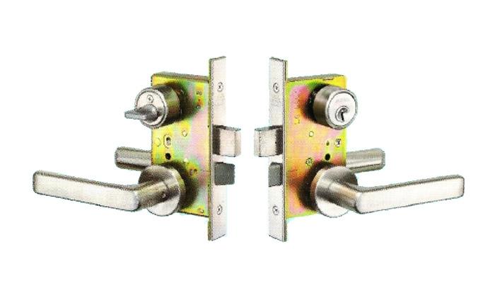 GOAL门锁日本原装进口LX-5NU11S执手锁、防火锁