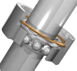 供应美国Smalley孔用卡簧扣环