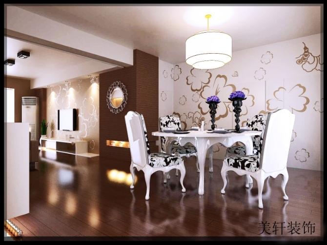湖南岳阳装修案例,现代简约装修风格,美轩创意装饰装修