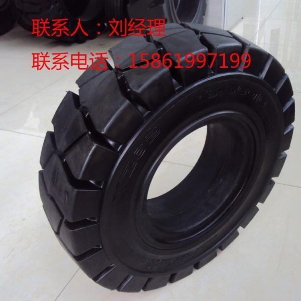 叉车轮胎、叉车实心轮胎6.00-9